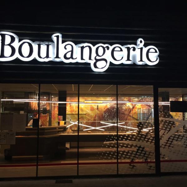 belle façade de boulangerie design