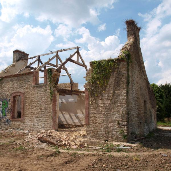 rénovation d'une maison abandonnée par un architecte sur Vannes