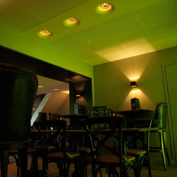 lumière de décoration ambiance verre