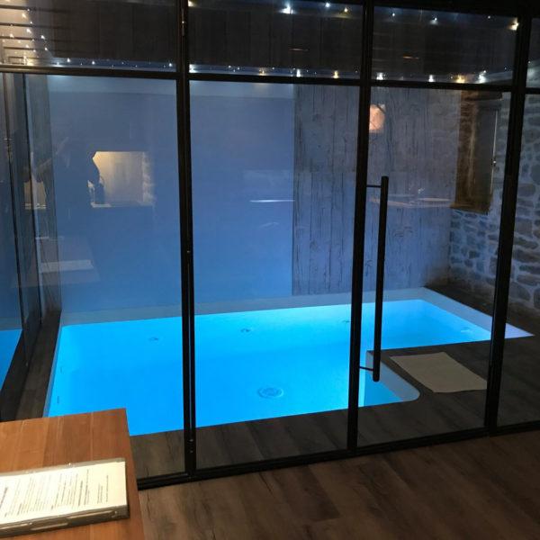 piscine intérieur d'architecte d'intérieur à Vannes