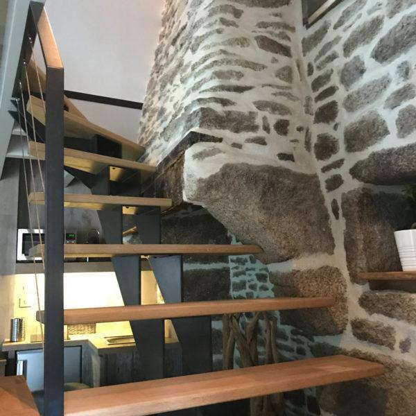 escalier design d'architecte d'intérieur