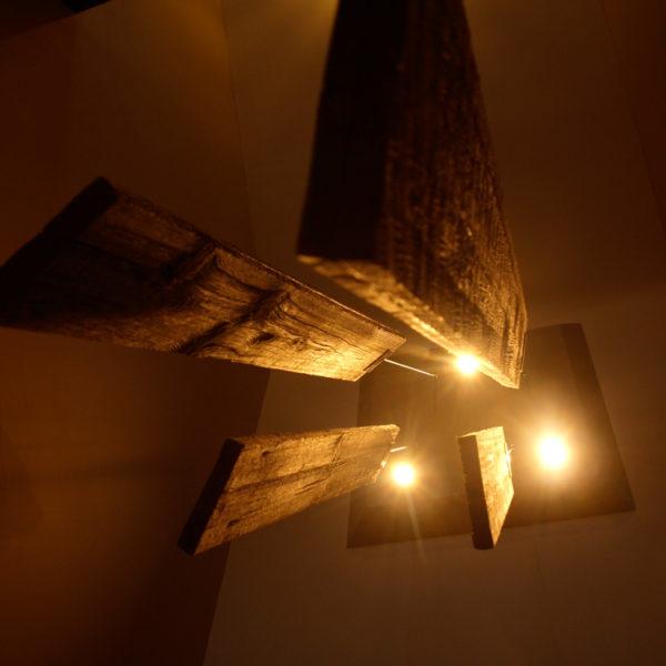 lustre vieux bois