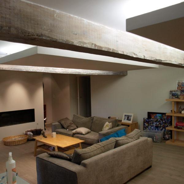 rénovation intérieur d'une longère